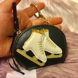 KATE SPADE ♠️ LEATHER ICE SKATING COIN PURSE